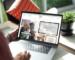 Mockup Of A Man Using A Macbook Pro At Home 488 El